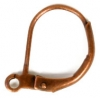 Lever Back With Ring French Earwire Copper